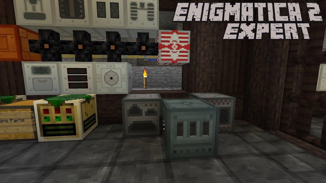 Finally Facades and Top Tier Power Storage : Enigmatica 2 Expert Lp Ep #17  Minecraft 1 12