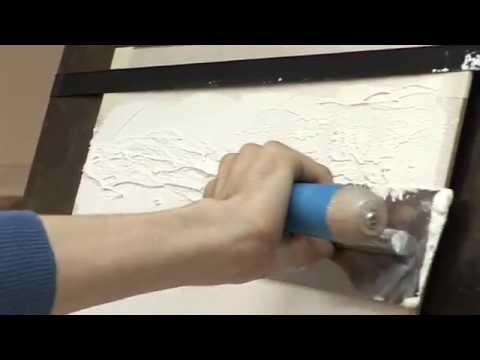 видео: Штукатурка Травертин ТМ ozon - техника нанесения