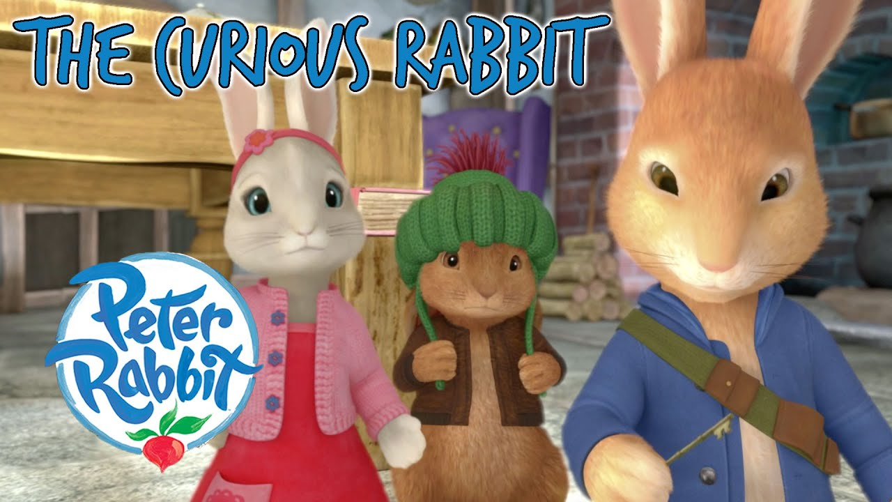 @Peter Rabbit - The Curious Rabbit 🐰 🔑 💭   Cartoons for Kids