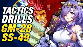 Fire Emblem Heroes - Tactics Drills: Grandmaster 28: Break Through the Siege! & Skill Studies 49 FEH