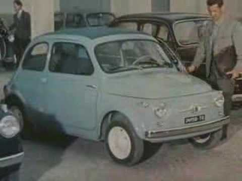Spot Fiat 500 D Epoca