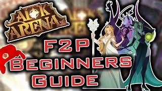 AFK ARENA - F2P BEGINNERS GUIDE and TIPS (DONT MISS THOSE!)