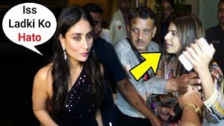 Kareena Kapoor Throws Tantrums When A Fan Ask For Selfie At International Quality Awards 2019
