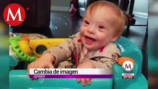 El primer bebé Gerber con síndrome de Down