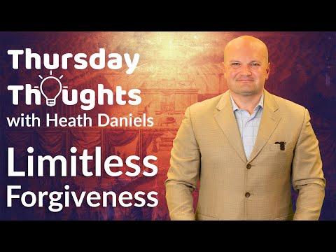 Limitless Forgiveness – #ThursdayThoughts 03-25-2021 @ParkwayChurchMadison