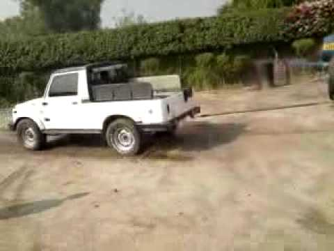 jeep vs gypsy 4x4 tug of war