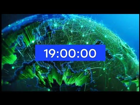 Часы НТВ 18:59 перед программой \