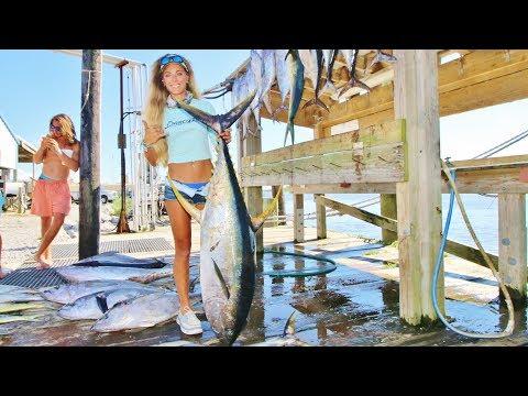 Offshore Fishing For Yellowfin Tuna & Mahi Mahi In Louisiana Video Ft. Swollfest Rodeo
