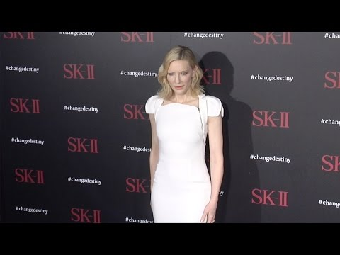 Cate Blanchett SK-II #ChangeDestiny Forum Photocall in Los Angeles