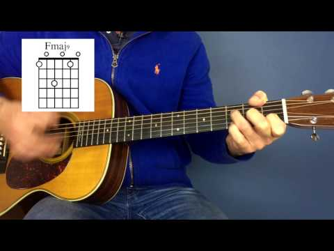 Coldplay - Fix You - Guitar lesson by Joe Murphy