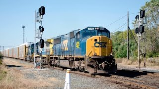 Railfanning Marion, Ohio: CSX and Norfolk Southern