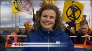 Durham Coal Mine Blockade | BBC Politics Live | Extinction Rebellion