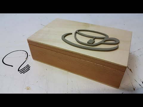 How to Make a Simple Tea Box
