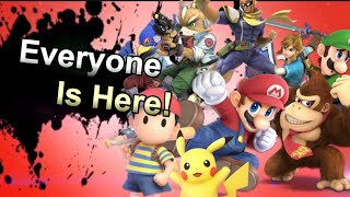 Every Super Smash Bros. Ultimate character is Here! Part 1
