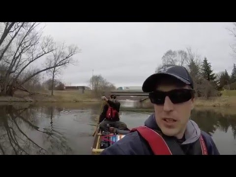 Middle Branch Thames River - CJ Video - March 12th 2016