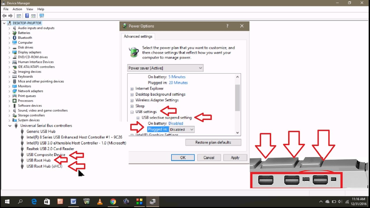 How to Fix USB Ports Not Working Problem In Windows PC - YouTube
