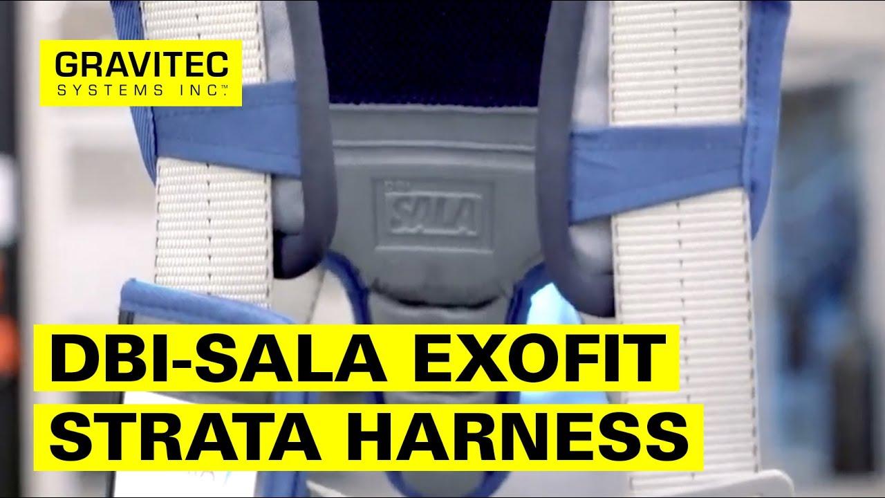 8ab17f8e5 DBI-SALA ExoFit STRATA™ Construction Style Positioning Harness - YouTube