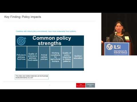 ILSI NA: Best Practices from the Food Sustainability Index (Lucy Hurst)