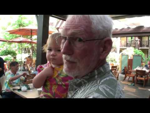 Hanna in Hawaii 2015   first step   zoo   Breakfast and 1st  birthday
