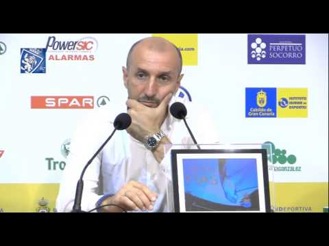 Ranko Popovic en rueda de prensa - 21/6/2015