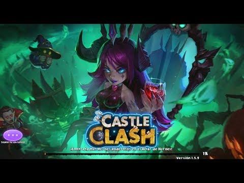 UPGRADE (actualización) Server Ingles Y Español - Castle Clash