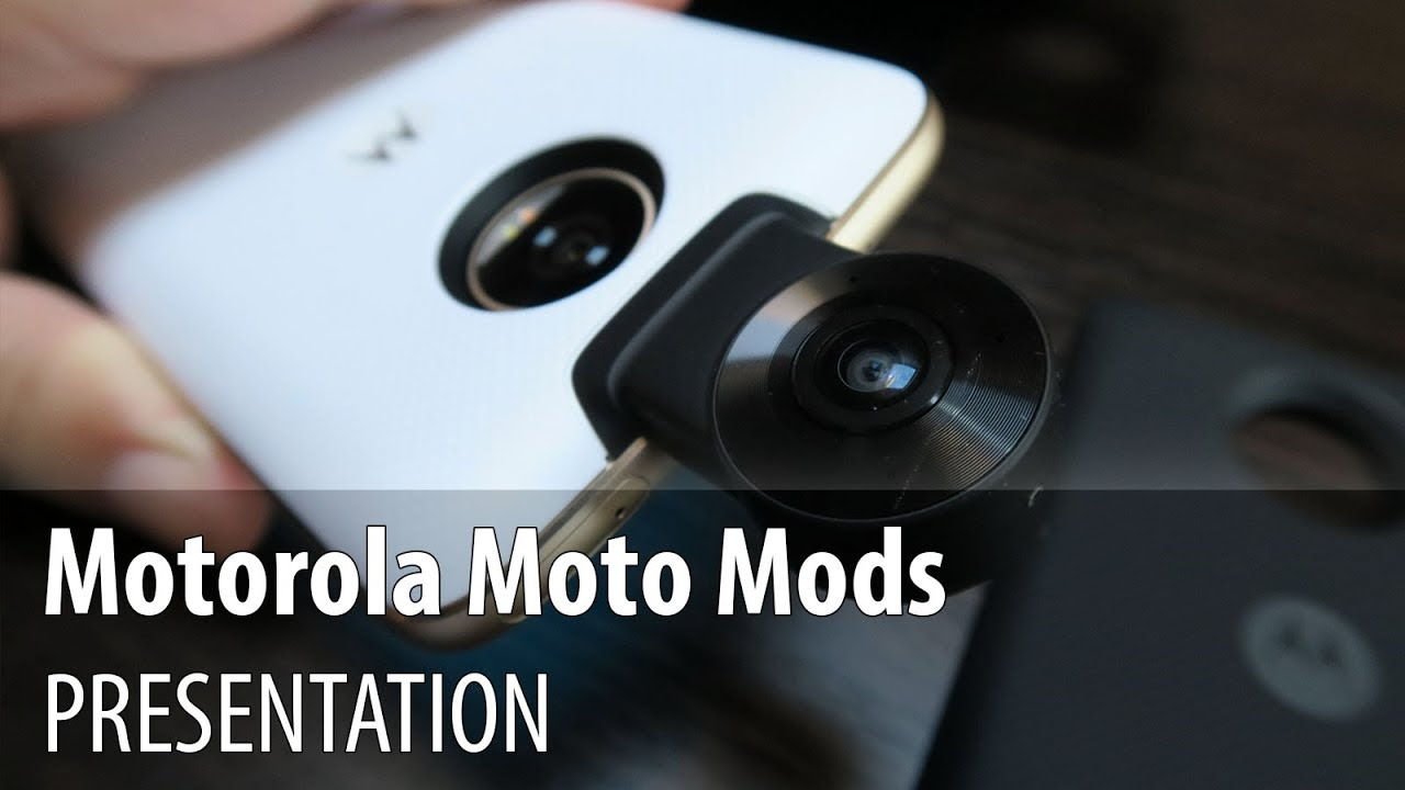 Motorola Moto Mods Review: Style Shell, Turbo Power Mod, Moto 360 Camera  (Moto Z2 Play Accessories)