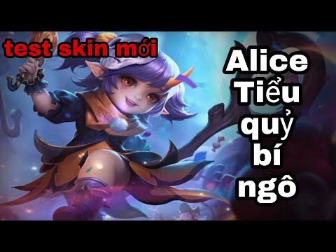 Liên quân Mobile | Alice mùa 16 | test skin mới Alice Tiểu quỷ bí ngô