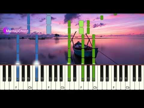 COLDPLAY - A SKY FULL OF STARS - Very Easy Piano Tutorial MantapChord