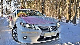 Красивые свадебные украшения для машин