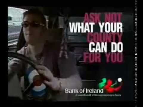Larry Gogan Bank of Ireland Galway Football TV Ad