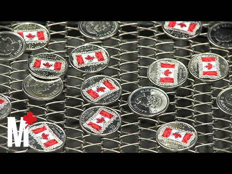 What It Feels Like To Mint Coins At Winnipeg's Royal Canadian Mint