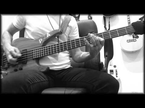 U2 Vertigo Bass Cover With TABS And Backing Track
