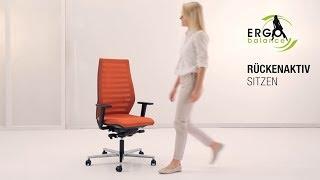 Rückenaktiv sitzen mit neuer ERGO BALANCE Technik! Die innovative, ...