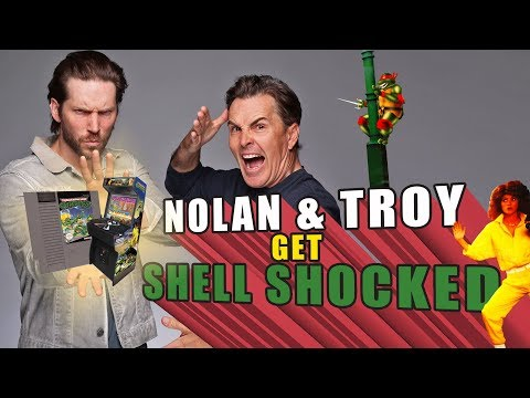 RETRO REPLAY   Nolan North and Troy Baker Get Shell Shocked Playing TMNT