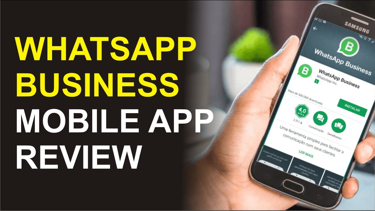 Whatsapp Business Review Whatsapp For Business Youtube