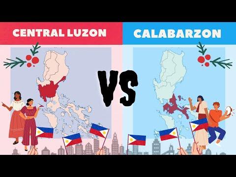 CENTRAL LUZON vs CALABARZON│Comparison (Economy, Culture, Standard of Living, Development, etc..)