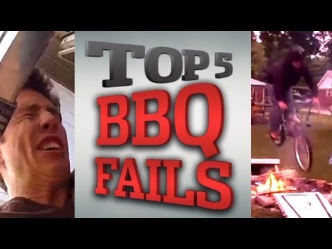 Top 5 YouTube BBQ Fails For The Fourth of July
