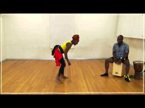 African Dance Lesson 1 Dinhe