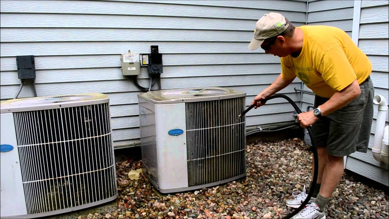 Cleaning Air Conditioner Coils How To Video You