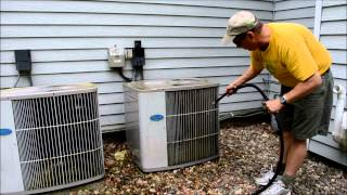 Cleaning Air Conditioner Coils (How To Video)