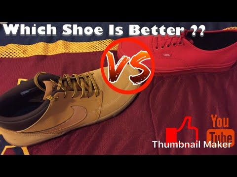 50b2840e63b WHICH SHOE IS BETTER NIKE SB or VANS - YouTube