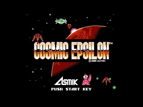 (Real 3D) Cosmic Epsilon - NES Longplay (Famicom 3D)