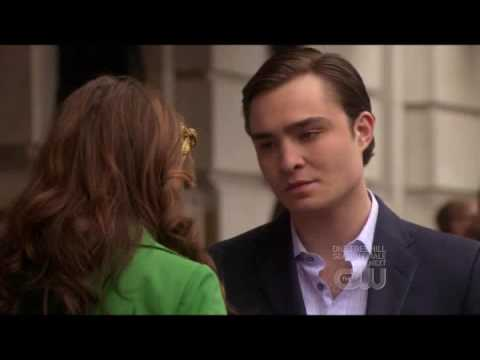 did blair and chuck dating in real life