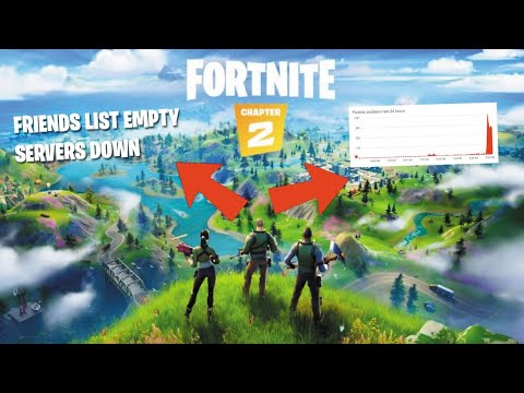 Fortnite Servers   Friends List Empy, Loading Problems & Issues