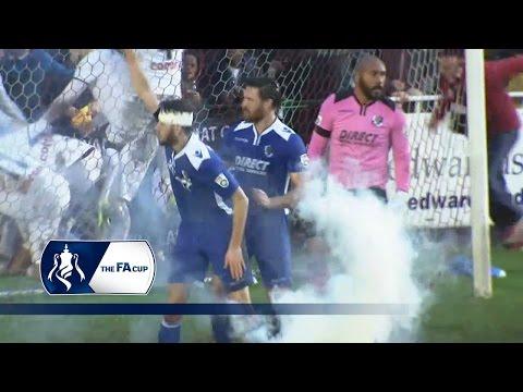 Bromley 3-4 Dartford - FA Cup First Round | Goals & Highlights