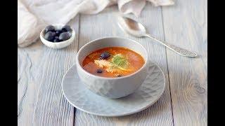 Густая и Ароматная Рыбная Солянка . #Солянка#Суп Домашний ресторан®