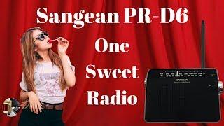Сайт sangean пр-Д6 Am і FM стерео портативний Радіо коментар