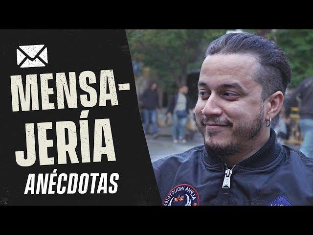 ANÉCDOTAS DE MENSAJERÍA