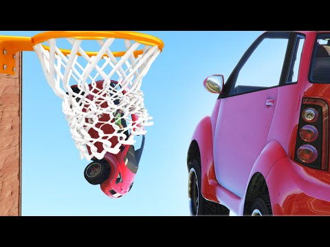 GTA PANTO BASKETBALL! (GTA 5 Funny Moments)