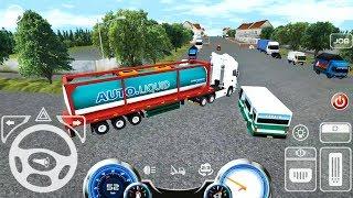 Mobile Truck Simulator #3 - Liquid Cargo Transport - Android Gameplay FHD